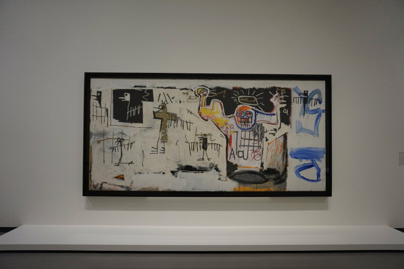 Vue de l'exposition Jean-Michel Basquiat - Fondation Louis Vuitton (38)