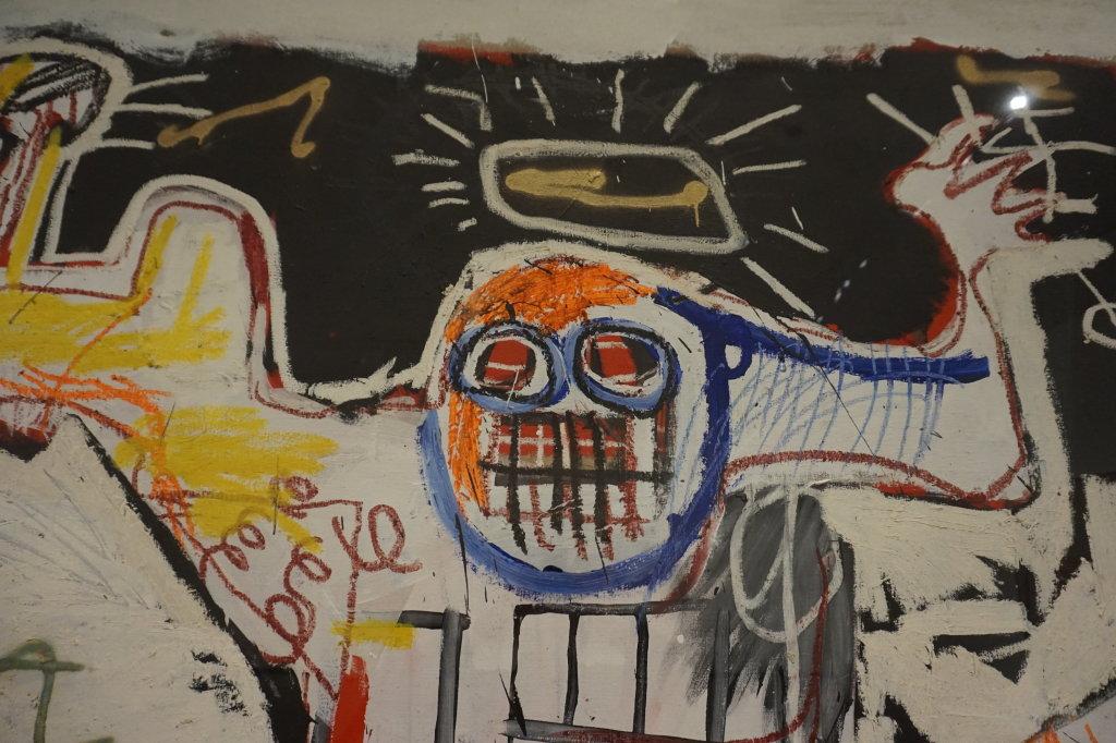 Vue de l'exposition Jean-Michel Basquiat - Fondation Louis Vuitton (39)