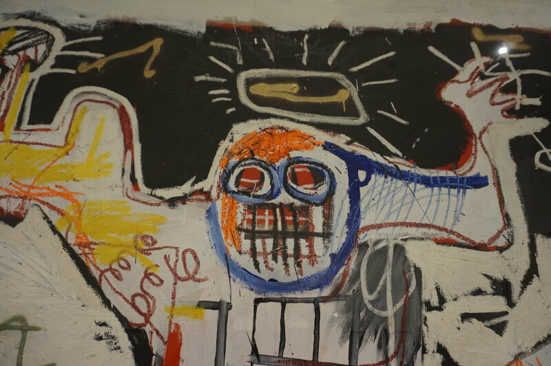 Vue de l'exposition Jean-Michel Basquiat - Fondation Louis Vuitton (39)