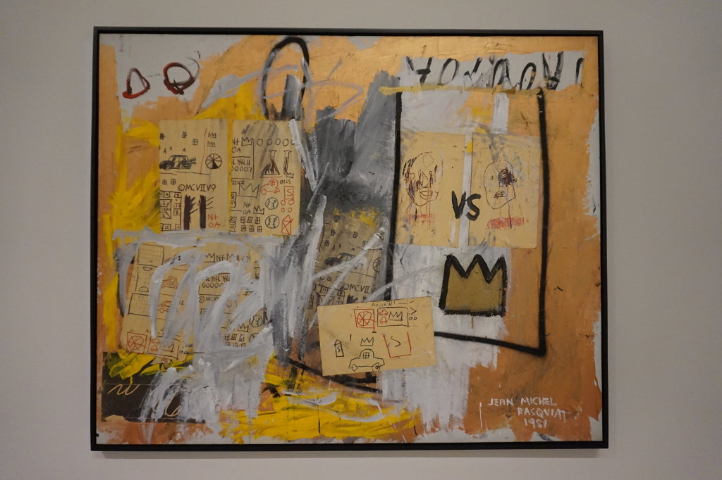 Vue de l'exposition Jean-Michel Basquiat - Fondation Louis Vuitton (4)