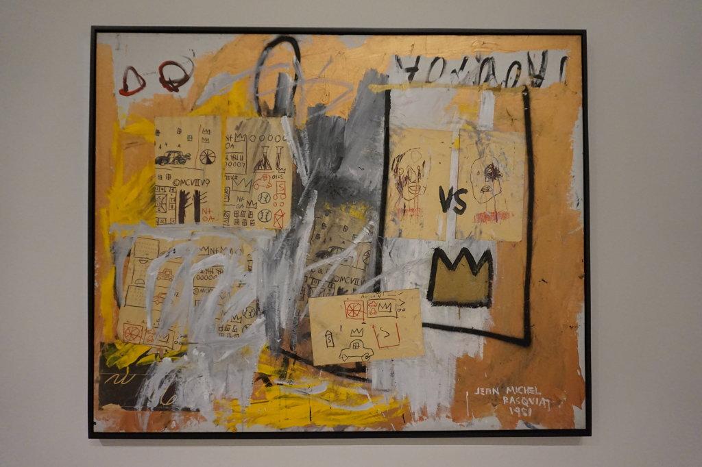Vue de l'exposition Jean-Michel Basquiat - Fondation Louis Vuitton (4)