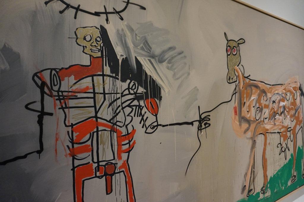 Vue de l'exposition Jean-Michel Basquiat - Fondation Louis Vuitton (41)