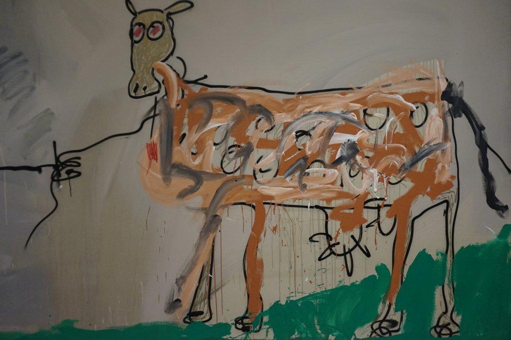 Vue de l'exposition Jean-Michel Basquiat - Fondation Louis Vuitton (42)