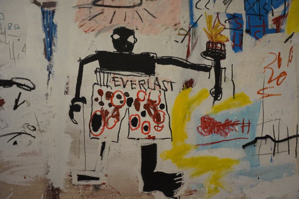 Vue de l'exposition Jean-Michel Basquiat - Fondation Louis Vuitton (43)