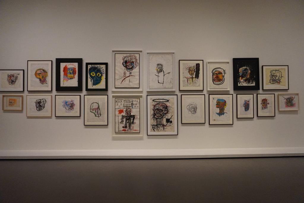 Vue de l'exposition Jean-Michel Basquiat - Fondation Louis Vuitton (46)