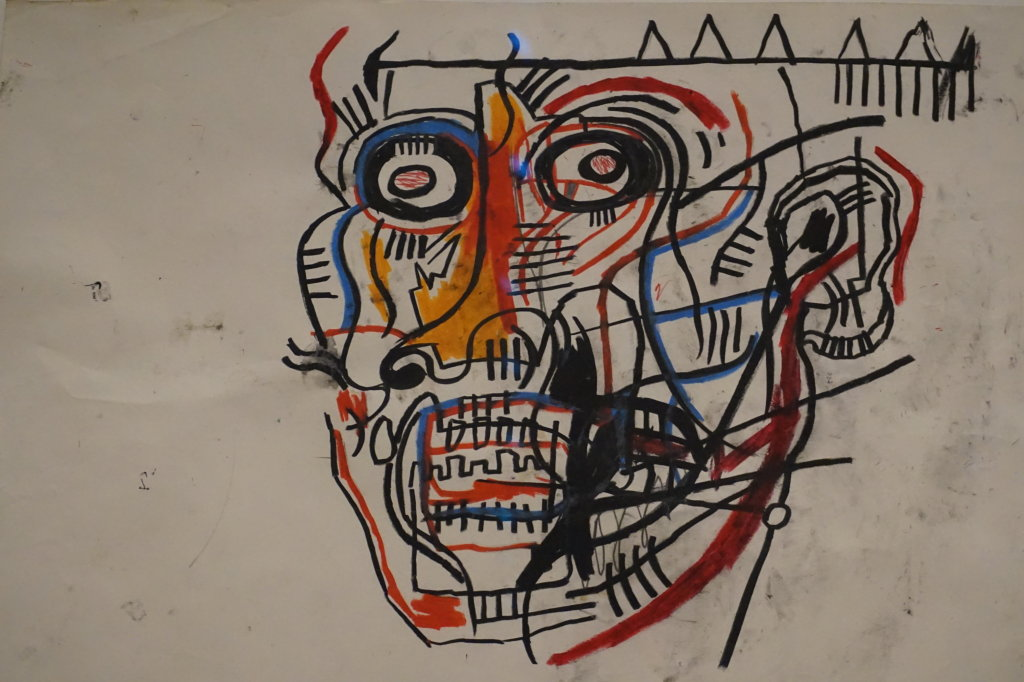 Vue de l'exposition Jean-Michel Basquiat - Fondation Louis Vuitton (47)