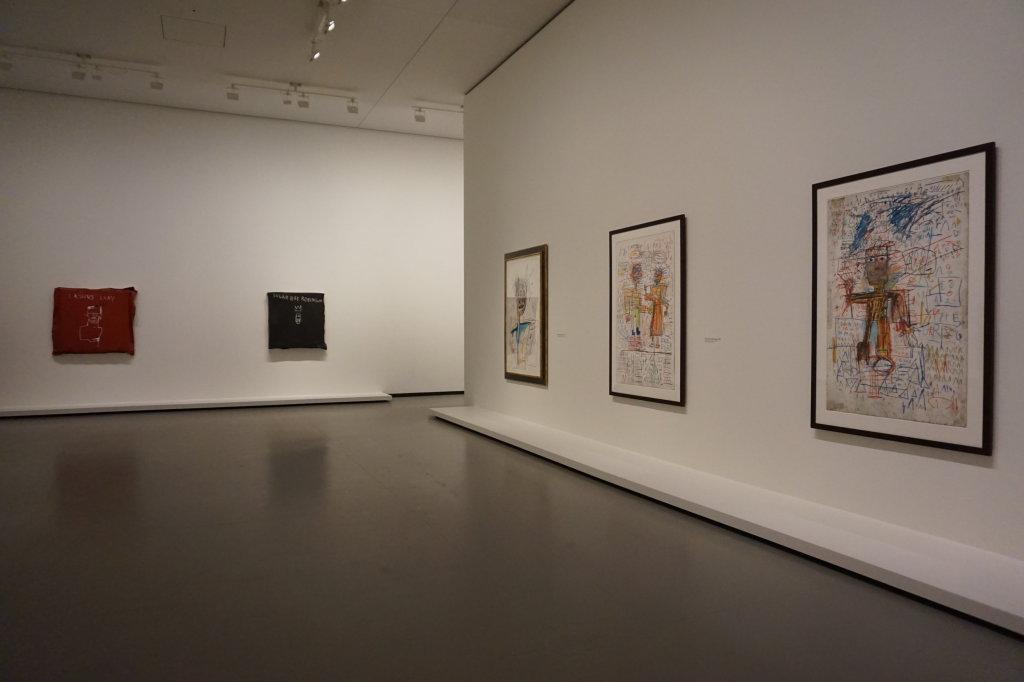 Vue de l'exposition Jean-Michel Basquiat - Fondation Louis Vuitton (48)