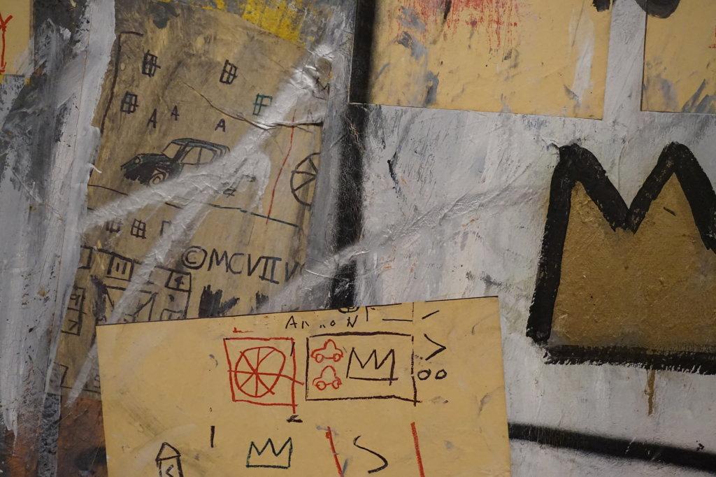 Vue de l'exposition Jean-Michel Basquiat - Fondation Louis Vuitton (5)