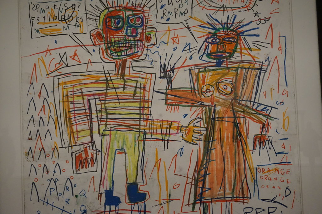 Vue de l'exposition Jean-Michel Basquiat - Fondation Louis Vuitton (50)