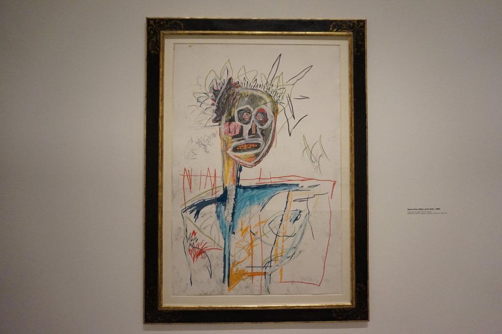 Vue de l'exposition Jean-Michel Basquiat - Fondation Louis Vuitton (51)