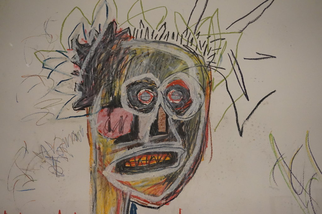 Vue de l'exposition Jean-Michel Basquiat - Fondation Louis Vuitton (52)