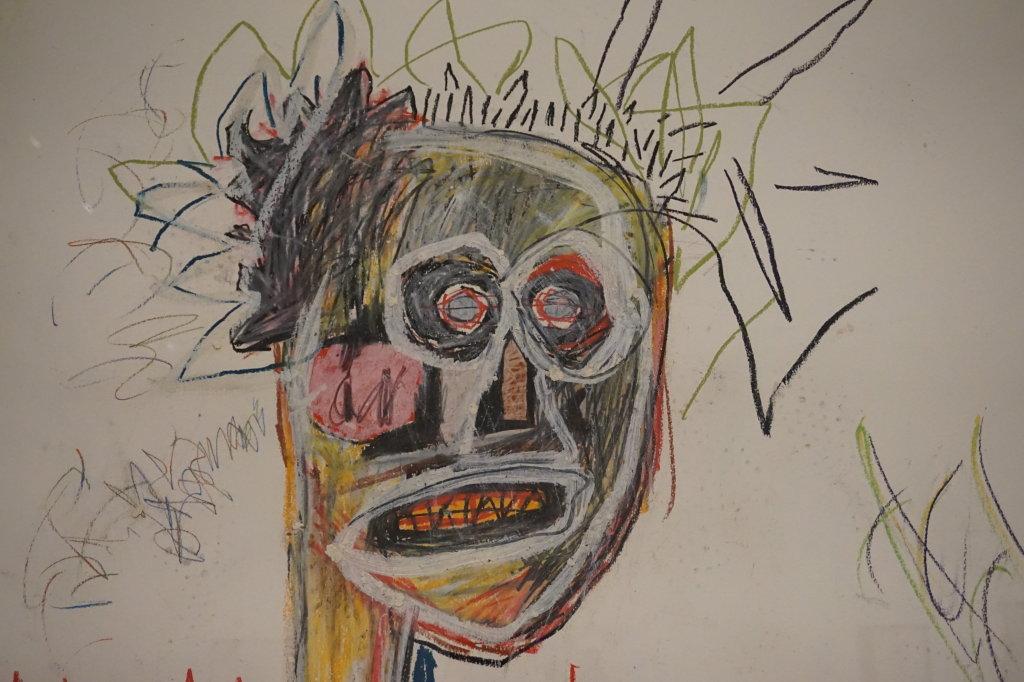 Vue de l'exposition Jean-Michel Basquiat - Fondation Louis Vuitton (52)