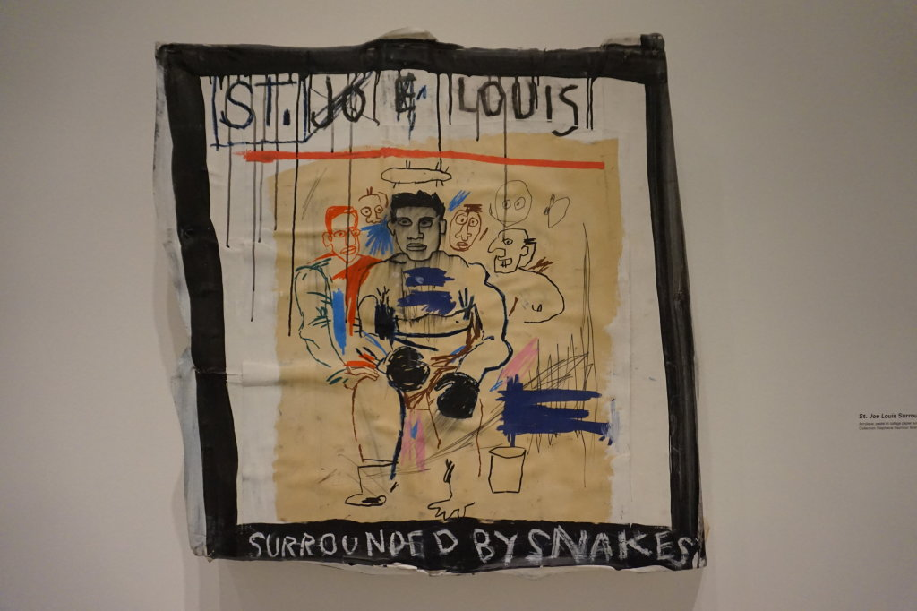Vue de l'exposition Jean-Michel Basquiat - Fondation Louis Vuitton (53)