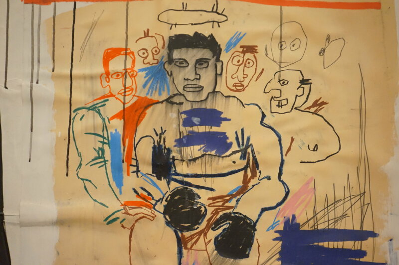Vue de l'exposition Jean-Michel Basquiat - Fondation Louis Vuitton (54)
