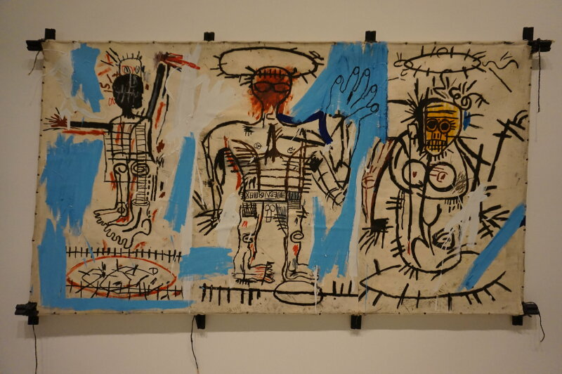 Vue de l'exposition Jean-Michel Basquiat - Fondation Louis Vuitton (55)