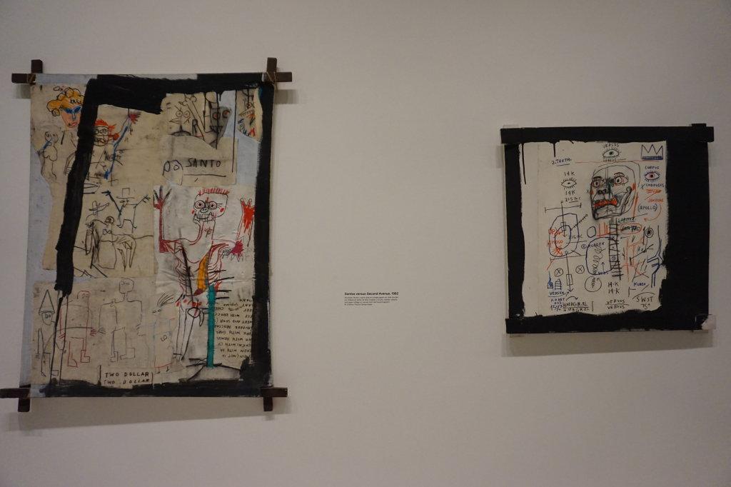 Vue de l'exposition Jean-Michel Basquiat - Fondation Louis Vuitton (56)