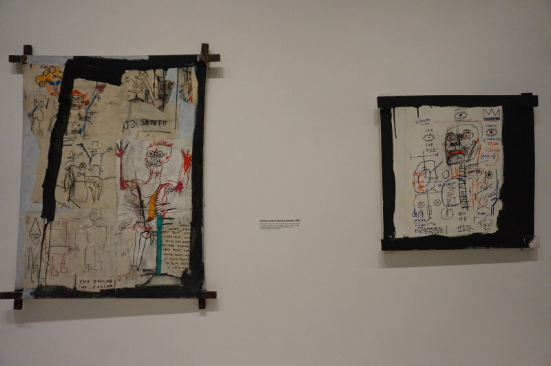 Vue de l'exposition Jean-Michel Basquiat - Fondation Louis Vuitton (56)