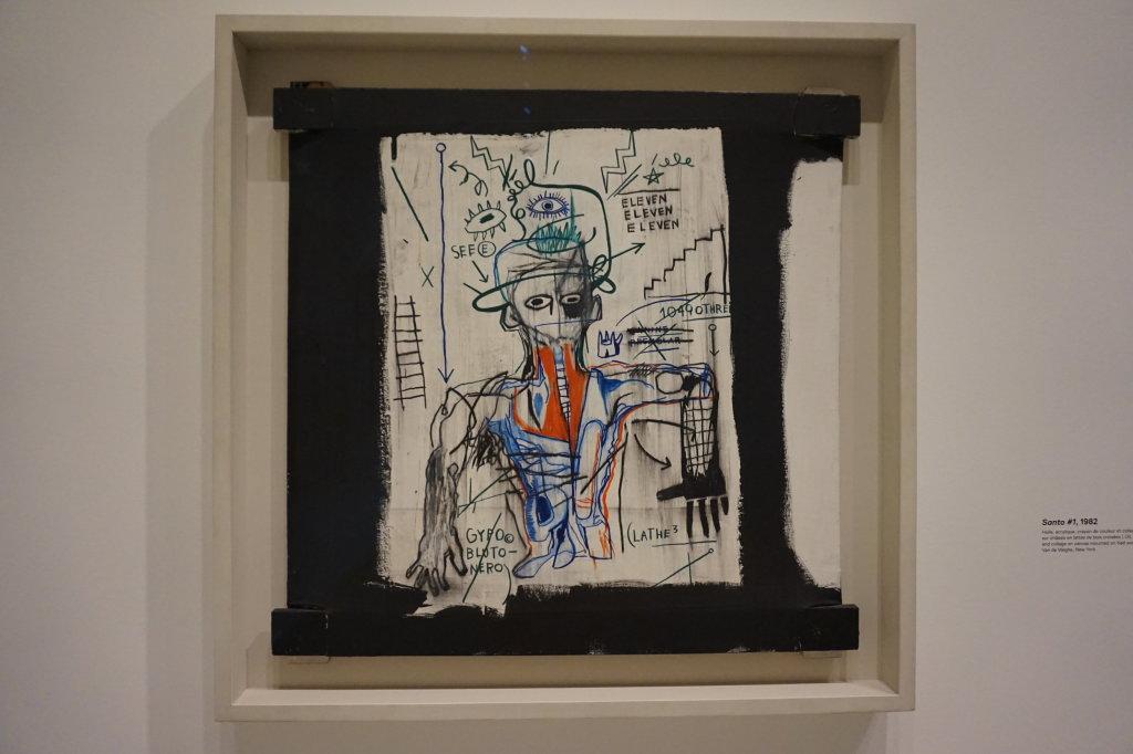 Vue de l'exposition Jean-Michel Basquiat - Fondation Louis Vuitton (57)