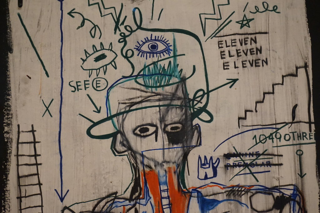 Vue de l'exposition Jean-Michel Basquiat - Fondation Louis Vuitton (58)