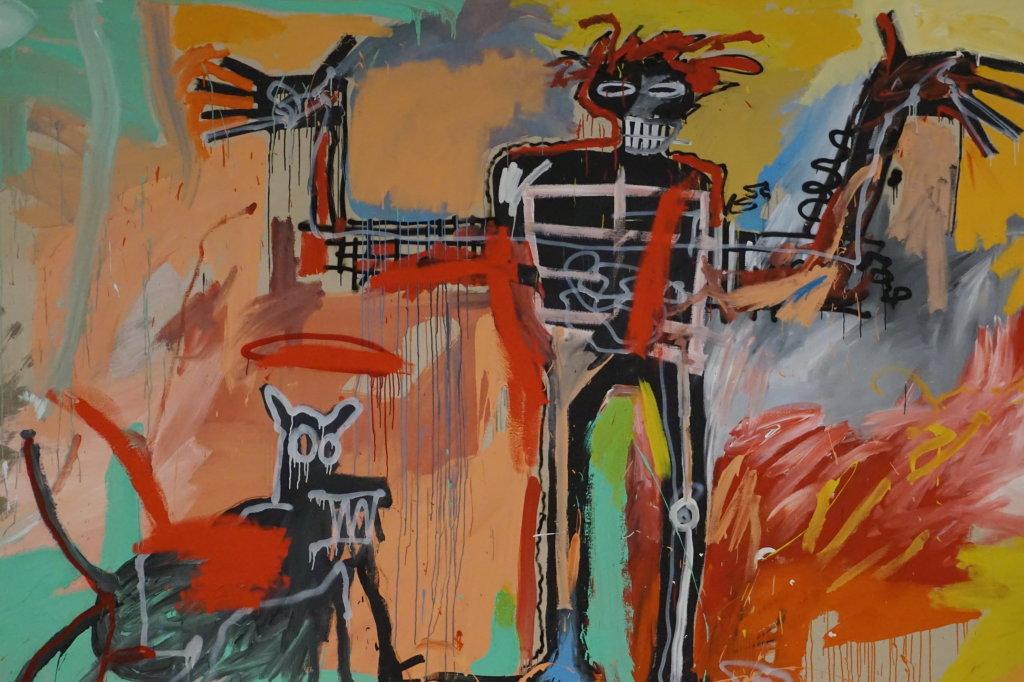 Vue de l'exposition Jean-Michel Basquiat - Fondation Louis Vuitton (59)