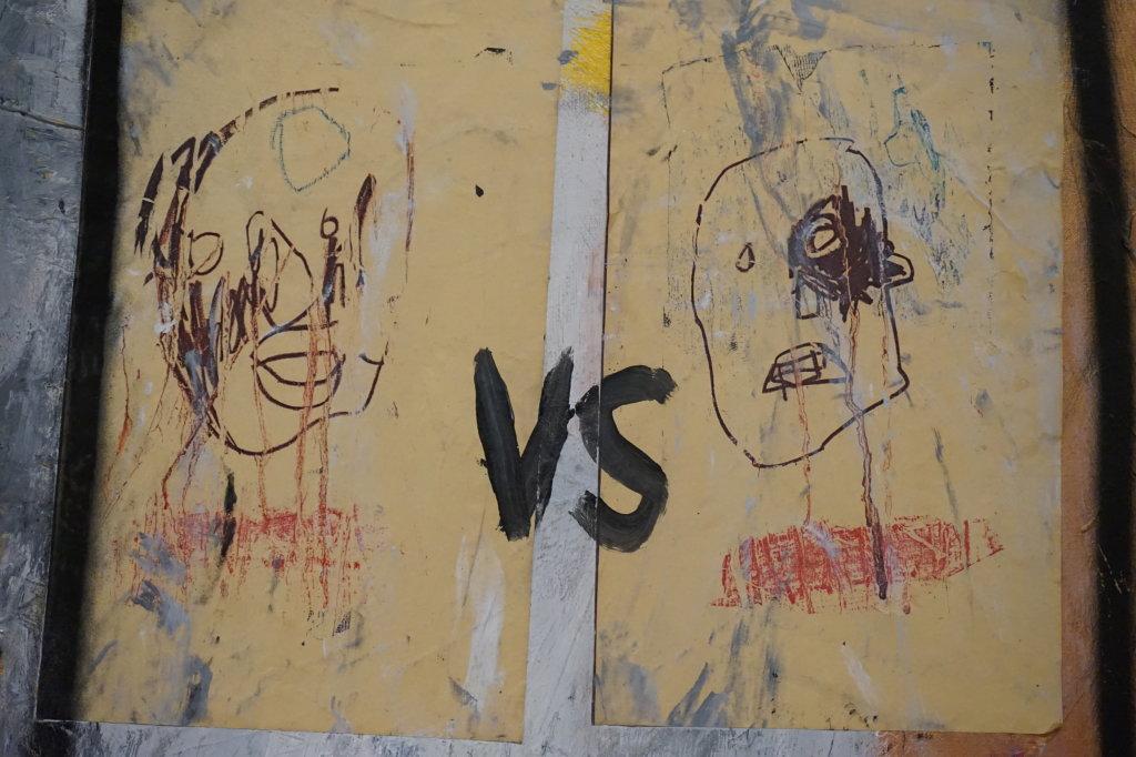 Vue de l'exposition Jean-Michel Basquiat - Fondation Louis Vuitton (6)