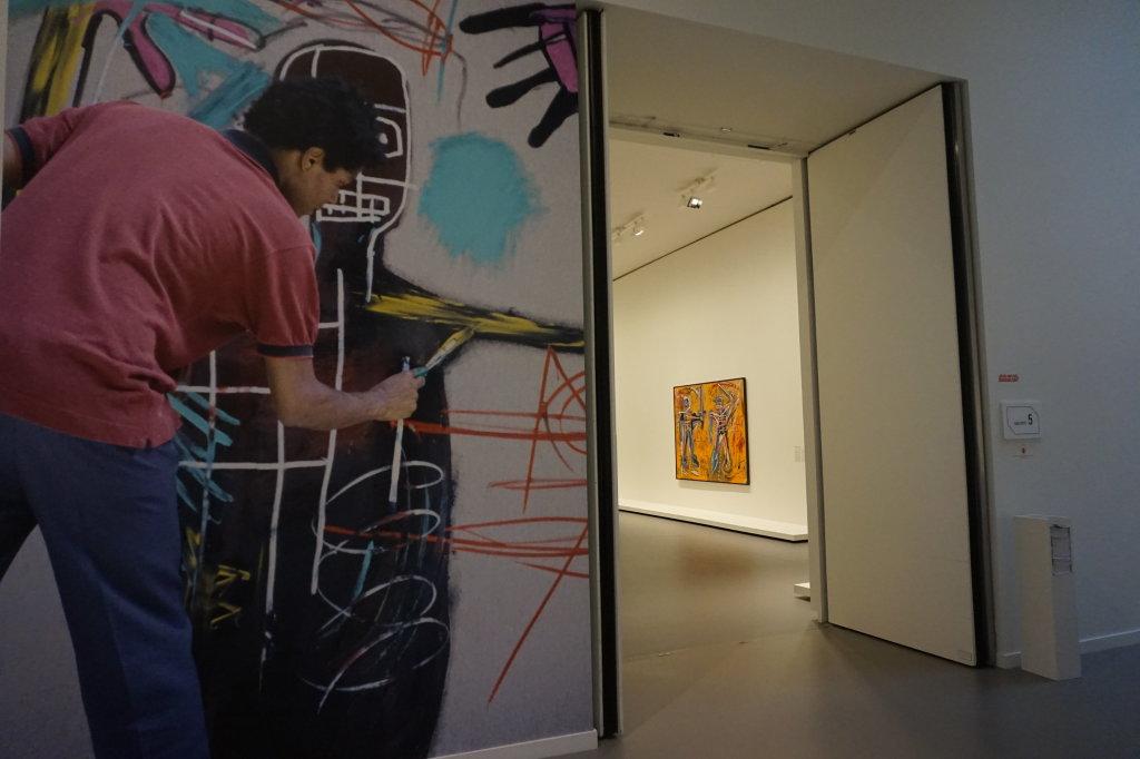 Vue de l'exposition Jean-Michel Basquiat - Fondation Louis Vuitton (60)