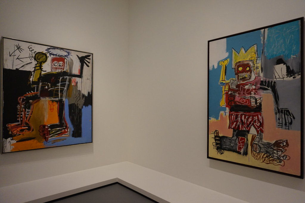 Vue de l'exposition Jean-Michel Basquiat - Fondation Louis Vuitton (61)