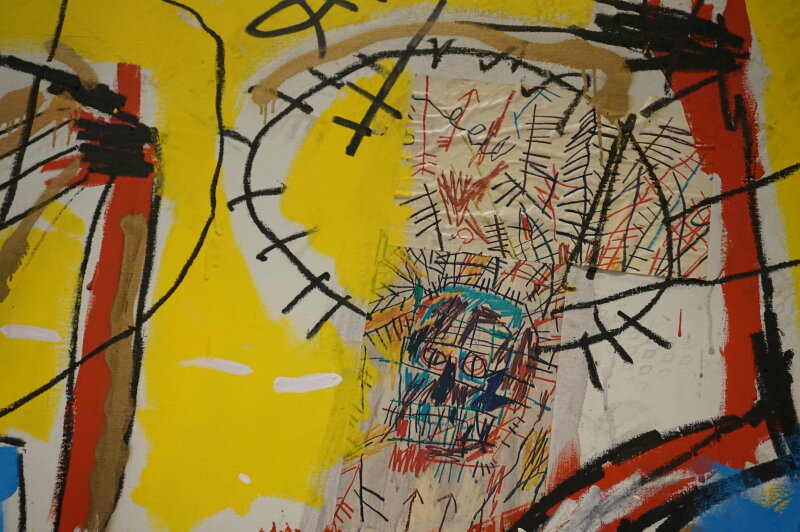 Vue de l'exposition Jean-Michel Basquiat - Fondation Louis Vuitton (62)