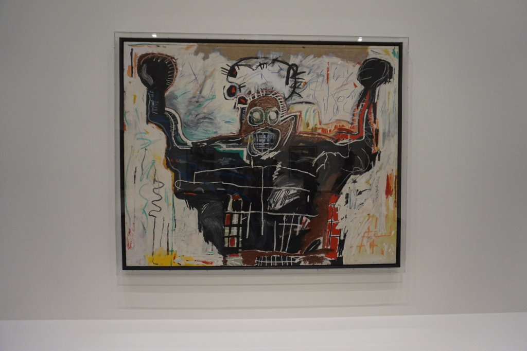 Vue de l'exposition Jean-Michel Basquiat - Fondation Louis Vuitton (63)