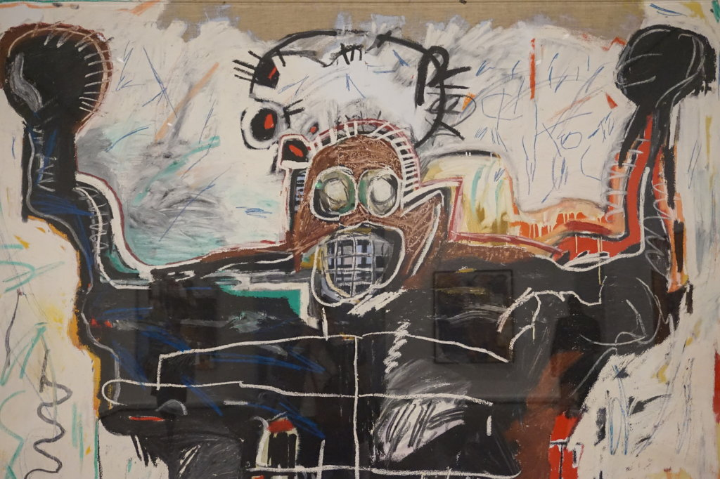 Vue de l'exposition Jean-Michel Basquiat - Fondation Louis Vuitton (64)