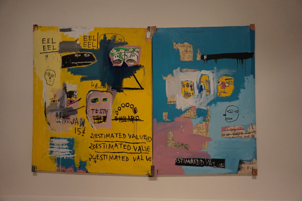 Vue de l'exposition Jean-Michel Basquiat - Fondation Louis Vuitton (65)