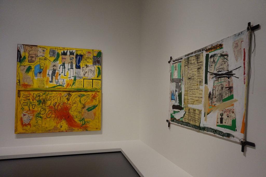 Vue de l'exposition Jean-Michel Basquiat - Fondation Louis Vuitton (66)