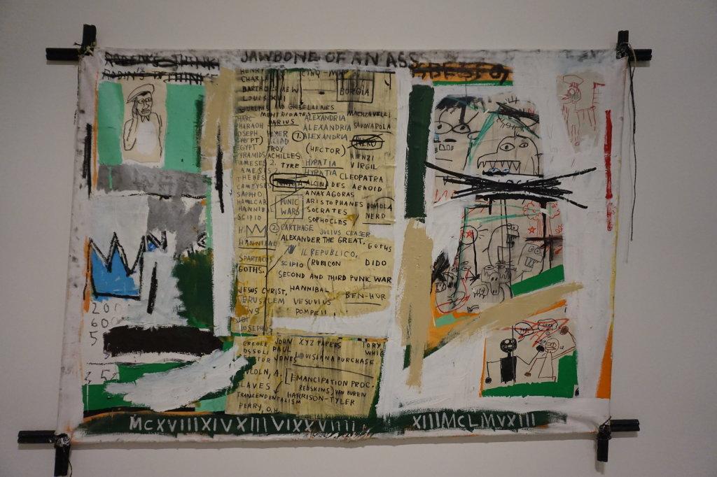 Vue de l'exposition Jean-Michel Basquiat - Fondation Louis Vuitton (67)