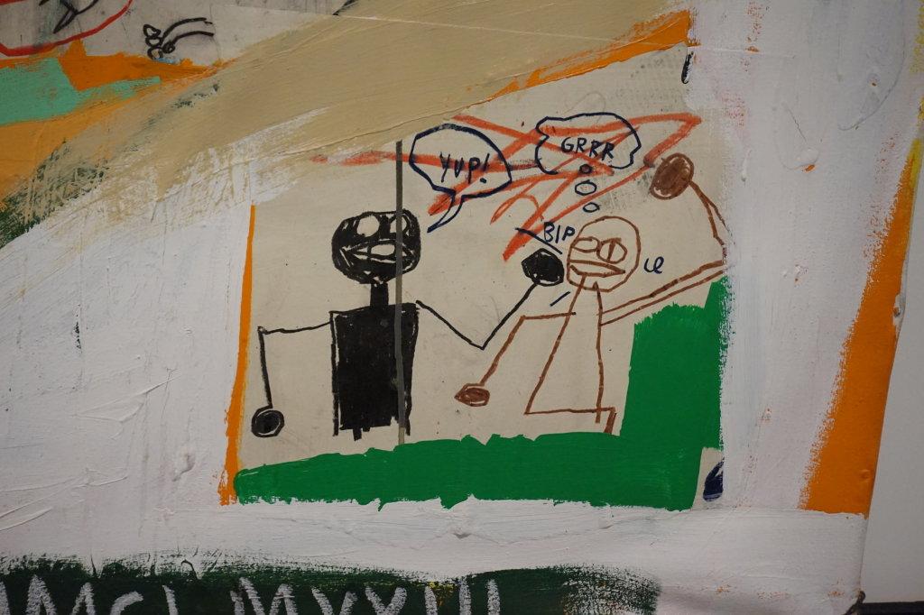Vue de l'exposition Jean-Michel Basquiat - Fondation Louis Vuitton (68)