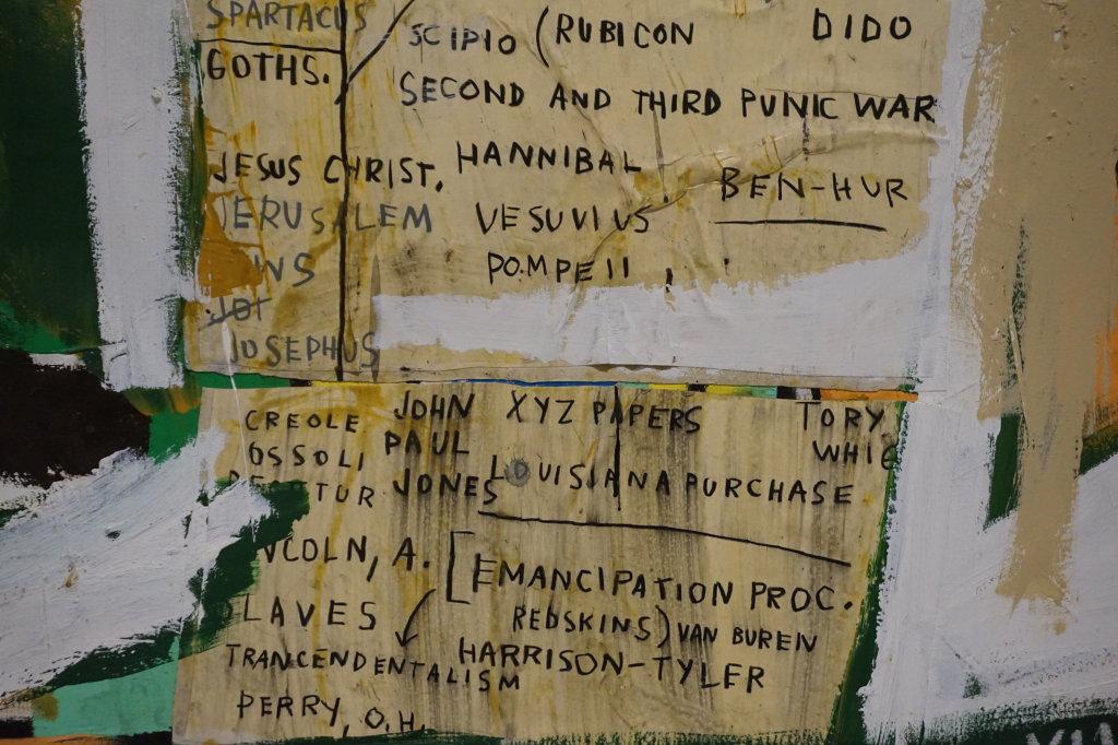 Vue de l'exposition Jean-Michel Basquiat - Fondation Louis Vuitton (69)