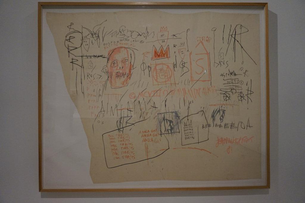 Vue de l'exposition Jean-Michel Basquiat - Fondation Louis Vuitton (8)