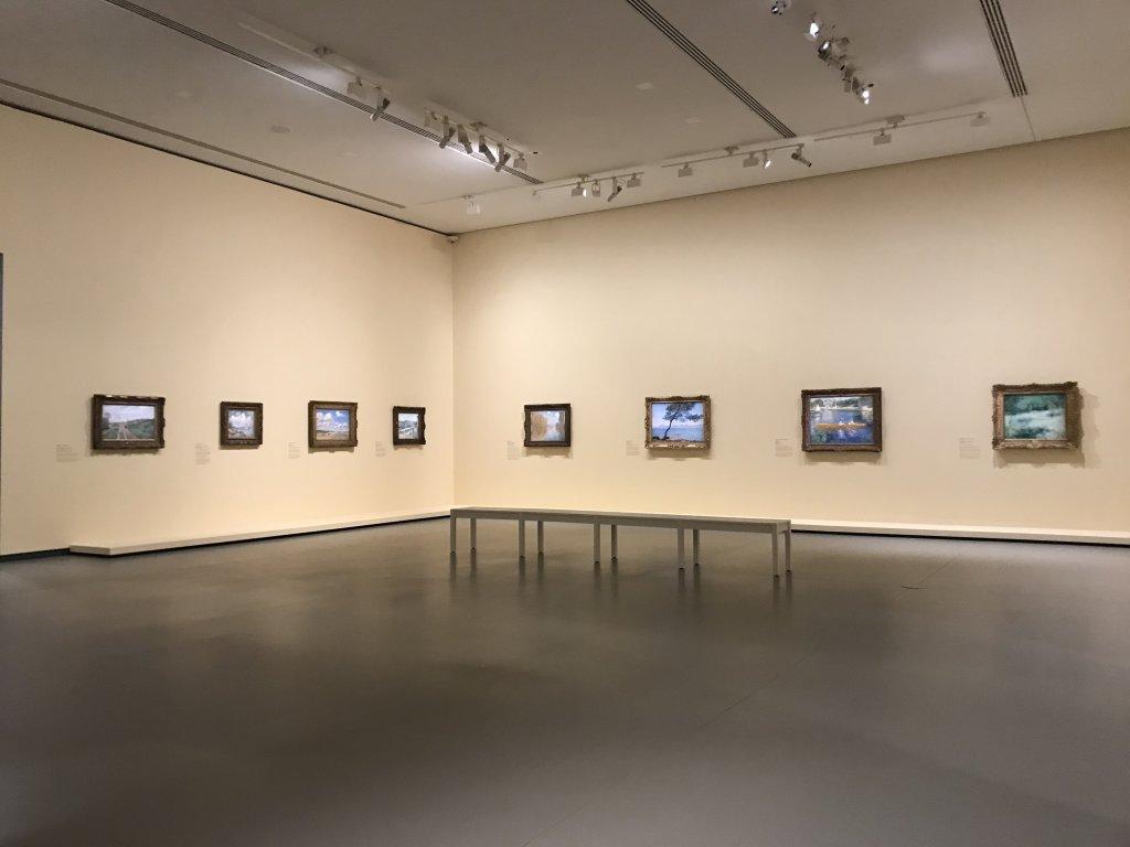 Vue de l'exposition La collection Courtauld, Fondation Louis Vuitton, Paris (1)