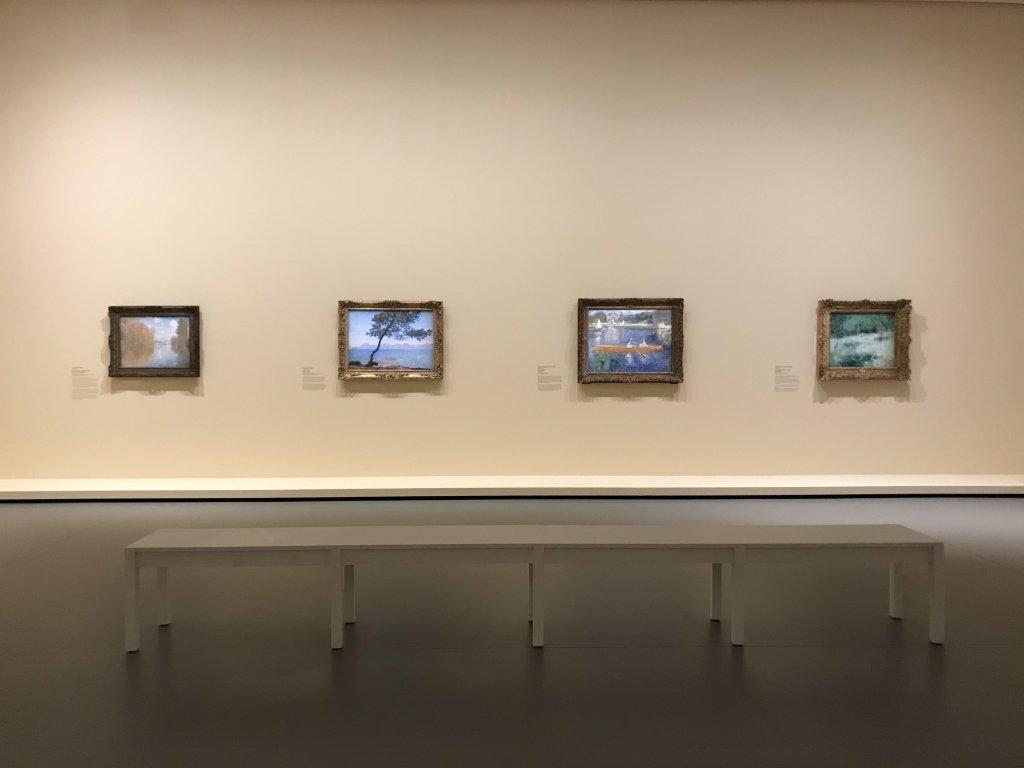 Vue de l'exposition La collection Courtauld, Fondation Louis Vuitton, Paris (14)