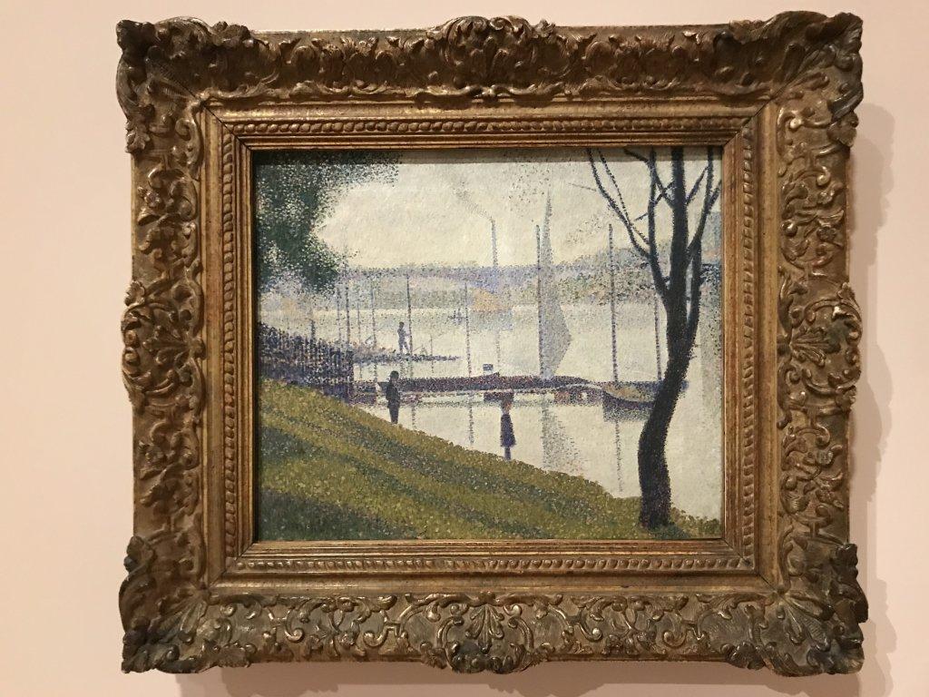 Vue de l'exposition La collection Courtauld, Fondation Louis Vuitton, Paris (20)