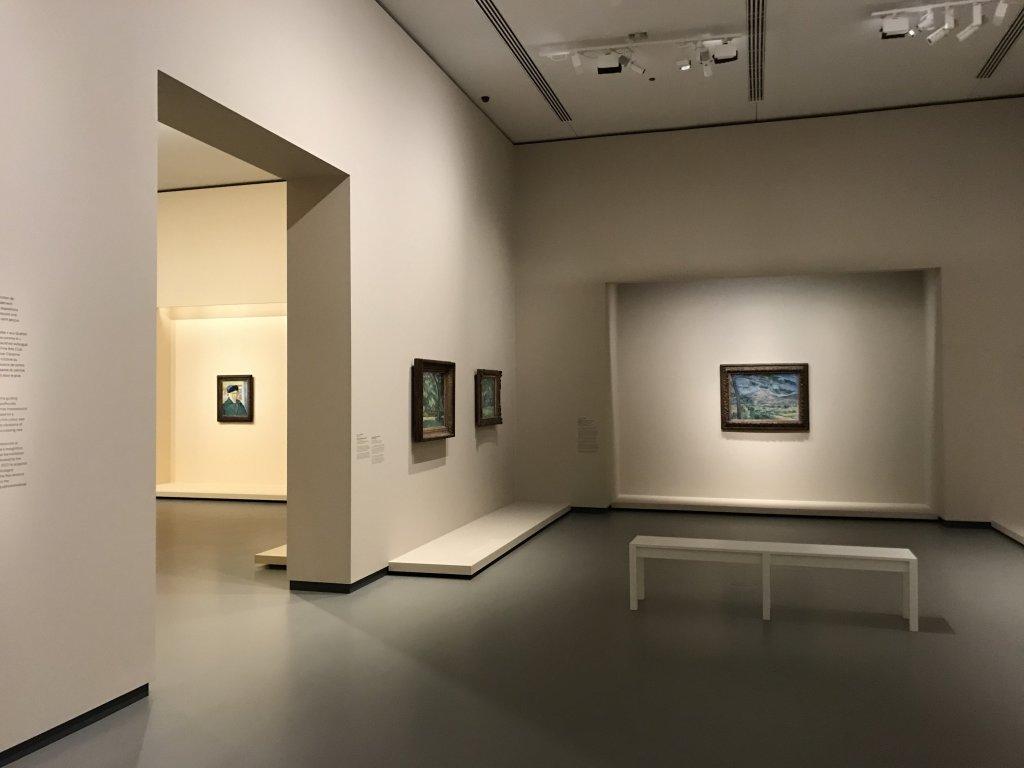 Vue de l'exposition La collection Courtauld, Fondation Louis Vuitton, Paris (26)
