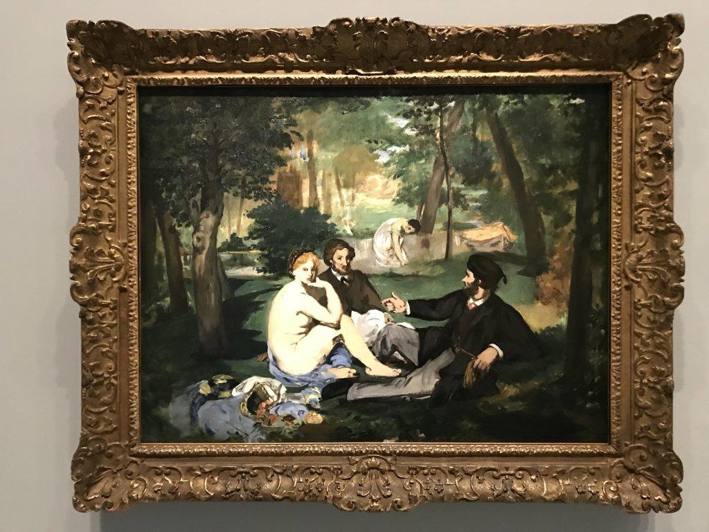 Vue de l'exposition La collection Courtauld, Fondation Louis Vuitton, Paris (3)