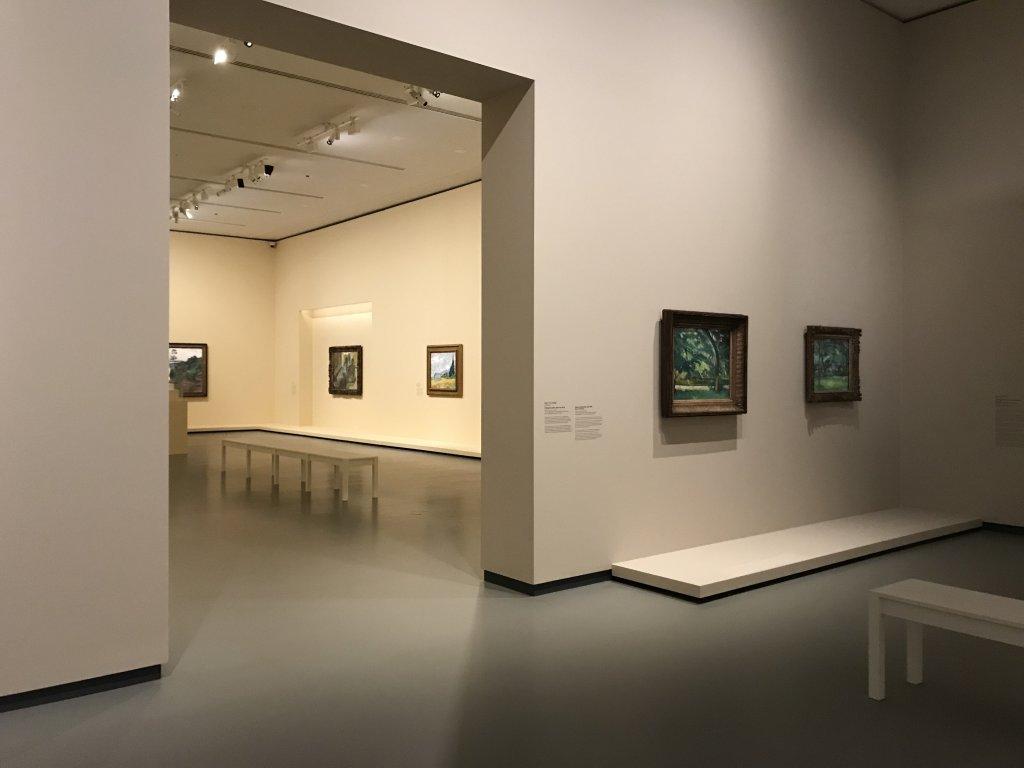 Vue de l'exposition La collection Courtauld, Fondation Louis Vuitton, Paris (31)