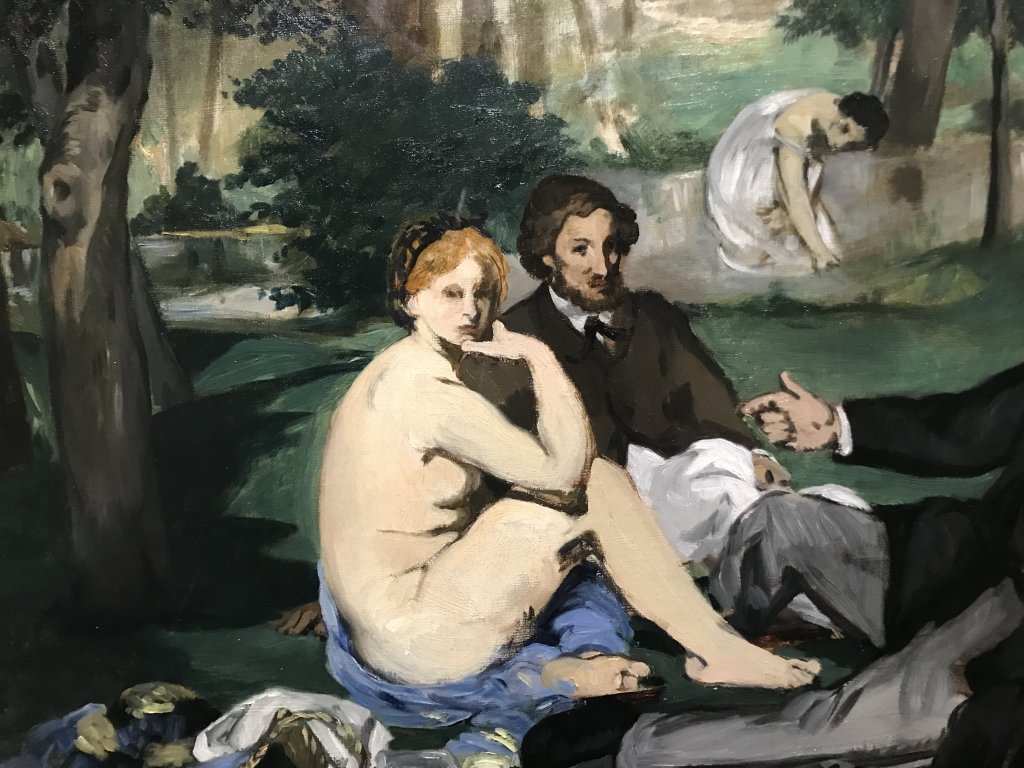 Vue de l'exposition La collection Courtauld, Fondation Louis Vuitton, Paris (4)