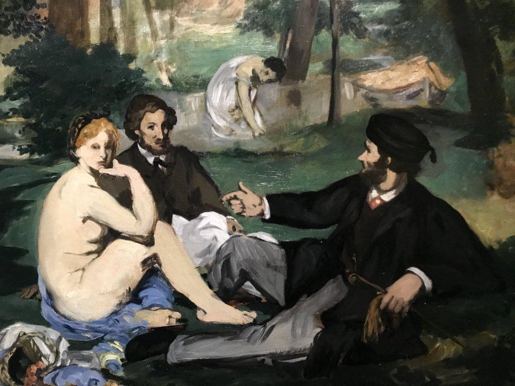 Vue de l'exposition La collection Courtauld, Fondation Louis Vuitton, Paris (5)