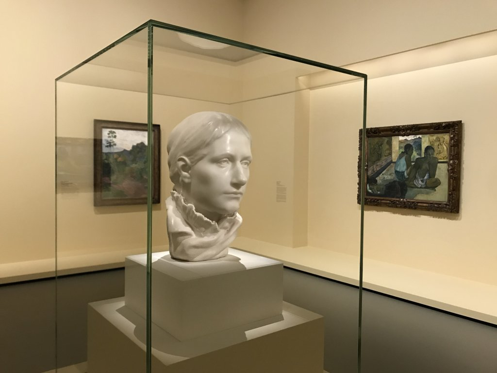 Vue de l'exposition La collection Courtauld, Fondation Louis Vuitton, Paris (53)