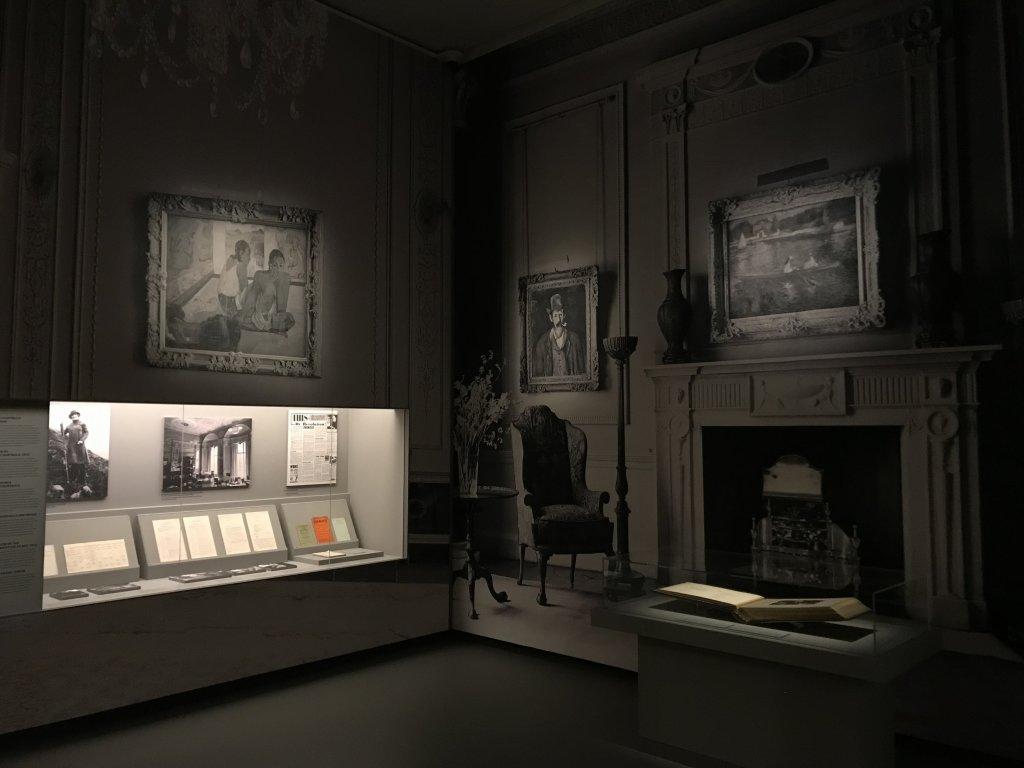 Vue de l'exposition La collection Courtauld, Fondation Louis Vuitton, Paris (54)