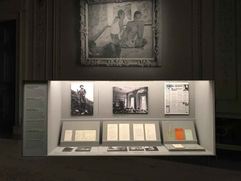 Vue de l'exposition La collection Courtauld, Fondation Louis Vuitton, Paris (55)