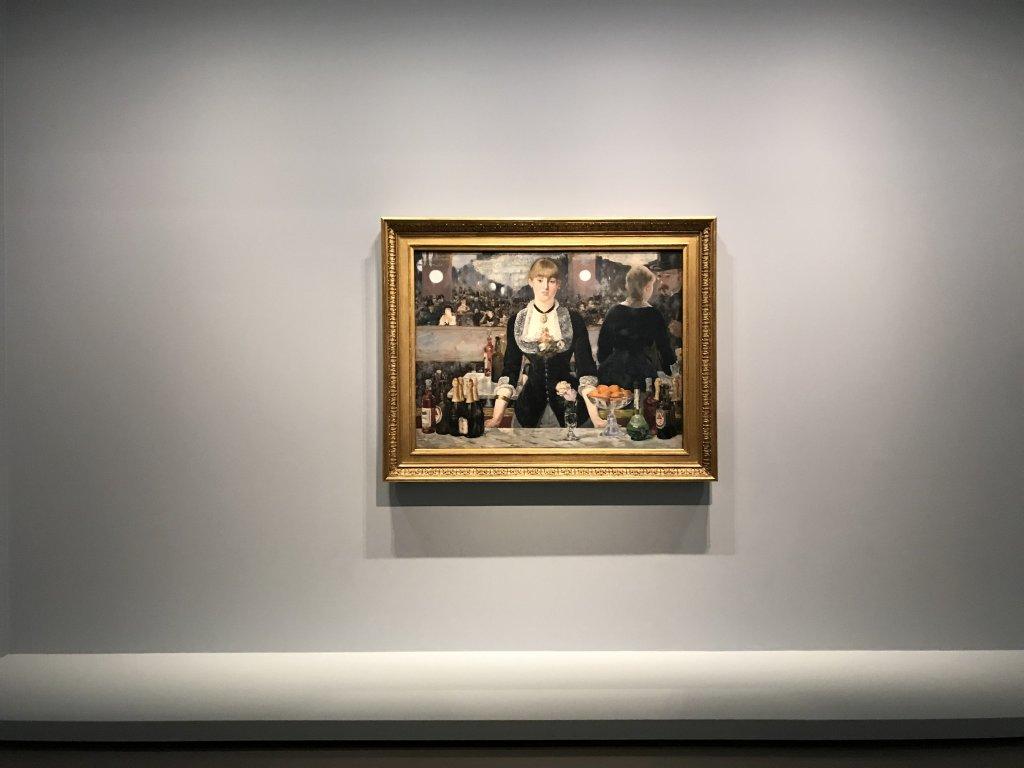 Vue de l'exposition La collection Courtauld, Fondation Louis Vuitton, Paris (6)