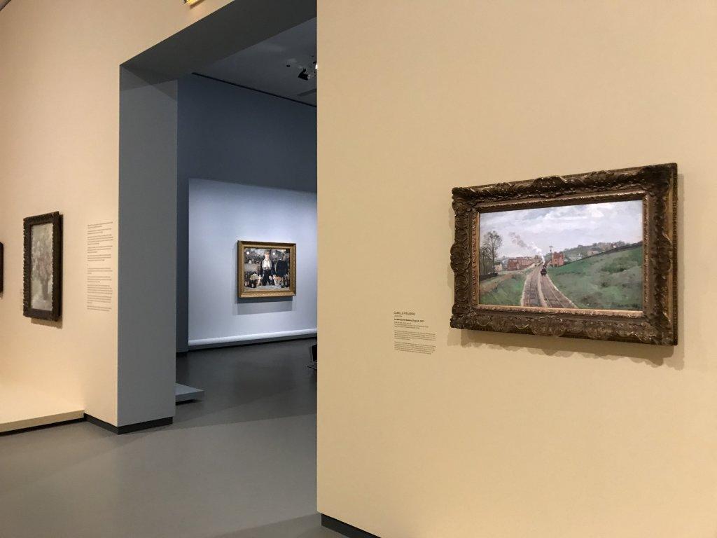 Vue de l'exposition La collection Courtauld, Fondation Louis Vuitton, Paris (9)
