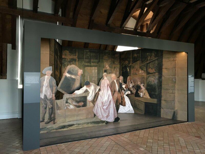 Vue de l'exposition La Fabrique du Luxe - Musée Cognacq-Jay (38)